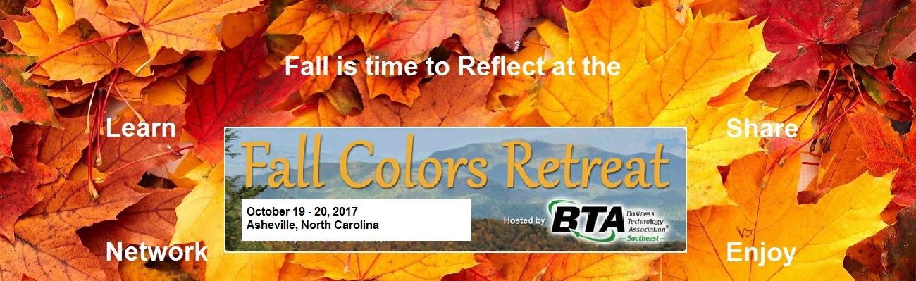 2017 Fall Colors Retreat